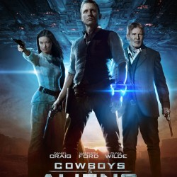New Cowboys & Aliens International Poster