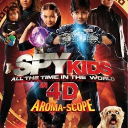 Five New Character Posters for Spy Kids: All the Time in the World