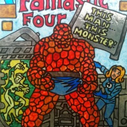 Nerd Eye For the Grown Guy: Comic Books As Stained Glass Art