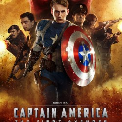 NEW Captain America: The First Avenger International Poster