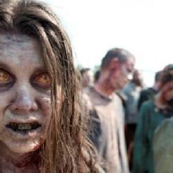 The Walking Dead: Makeup for that Creepy Season 2 Zombie Woman