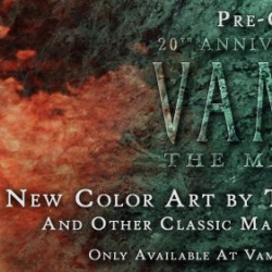 EXCLUSIVE First Look At New Art By Tim Bradstreet For The 20th Anniversary Edition of VAMPIRE: THE MASQUERADE And Interview With The Artist