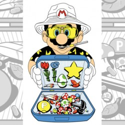 Scifi Mafia's Pic of the Day: Fear and Loathing in The Mushroom Kingdom