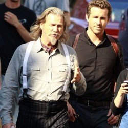 Jeff Bridges and Ryan Reynolds as Undead Cops On the Set of R.I.P.D.