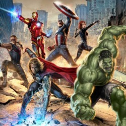 The Avengers: NEW Movie Artwork Assembled
