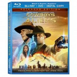 COWBOYS & ALIENS Hits Blu-ray with Universal's Second Screen Features
