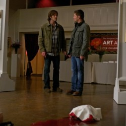 Supernatural: Pics from Tonight's Episode, Plus a Rough Cut from Jared