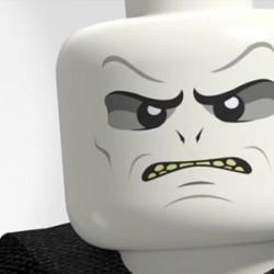 LEGO HARRY POTTER: Just How Does Voldemort Get His Game Face On?