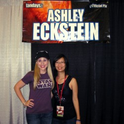 EXCLUSIVE: Ashley Eckstein from Star Wars: The Clone Wars Talks Geek Chic Wear and the Fate of Ahsoka Tano