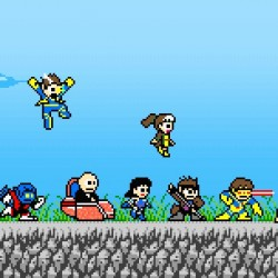 Pic of the Day: 8-Bit Marvel