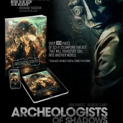 Septagon Studios Releases Sci-Fi Steampunk Graphic Novel ARCHEOLOGISTS OF SHADOWS