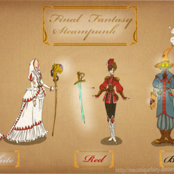 Steampunk'd: Final Fantasy Mages