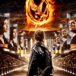 NEW Poster for THE HUNGER GAMES Reveals Katniss In the Tribute Arena