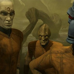"Two Clips From Friday's New STAR WARS: THE CLONE WARS ""Friends and Enemies"""