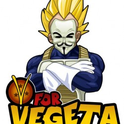 Pic of the Day: V for Vegeta