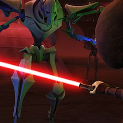 "Two Clips From Tonight's New STAR WARS: THE CLONE WARS ""Massacre"""