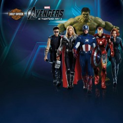 Harley-Davidson and THE AVENGERS Assemble for Heroic Contest