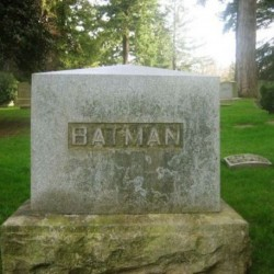 Pic of the Day: R.I.P. Batman