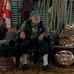 Syfy's TREASURE ISLAND Features a Hobbit, a President and Grandpa Munster