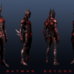Pic of the Day: Batman Beyond Character Model