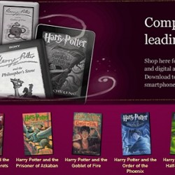 Harry Potter Books Finally Go Digital, Filthy Little Mudbloods Everywhere Rejoice