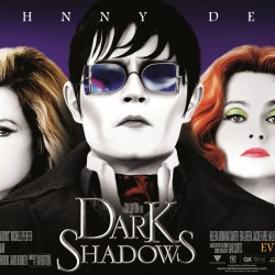 Colorful NEW Banner for Tim Burton's DARK SHADOWS