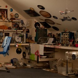First Look at Ender's Room from the Set of ENDER'S GAME