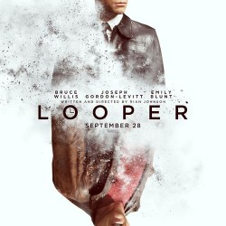 First Poster and Trailer Preview for LOOPER Starring Bruce Willis and Joseph Gordon-Levitt