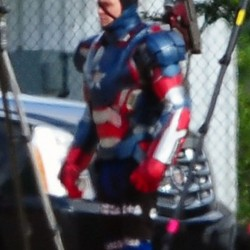 Spoileriffic Photos from the Set of IRON MAN 3 Reveal a Villain