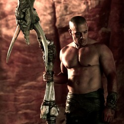 New Image of Vin Diesel from RIDDICK