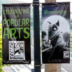 San Diego Gets Ready for Comic-Con With New Banners