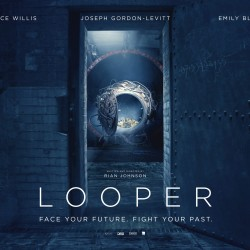 New International Poster for Rian Johnson's LOOPER is Viral Bait