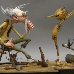 Take a Sneak Peek at Concept Artwork for Guillermo del Toro's PINOCCHIO