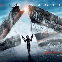 New Banner for RESIDENT EVIL: RETRIBUTION Sees Alice In Wasteland