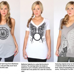 Her Universe Launches DOCTOR WHO and STAR TREK Apparel Line July 11, 2012