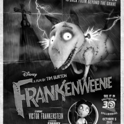 Frankenweenie Pays Homage To Classic Horror Films With New Trailer and Poster