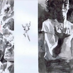 Buy Jill Thompson's Concept Art for Earlier Movie Pitch for Neil Gaiman's SANDMAN