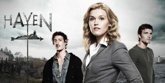 Haven promo cast with logo wide