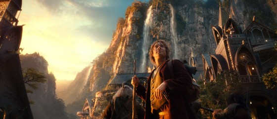 Hobbit AUJ 08 Bilbo Rivendale