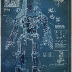 More Giant Robot Blueprints From PACIFIC RIM For Your Analysis