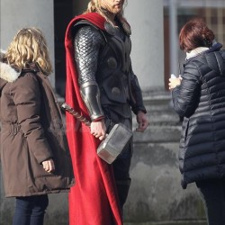First Look Set Shots from THOR: THE DARK WORLD