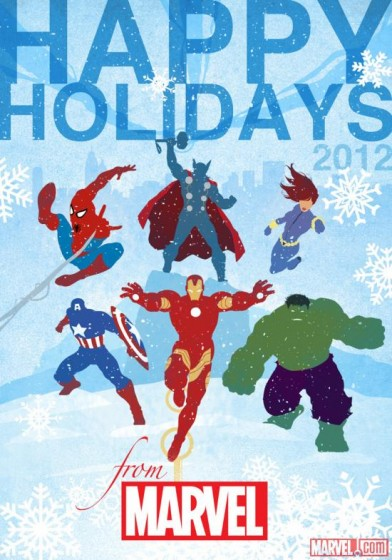 Marvel Official 2012 Holiday Card