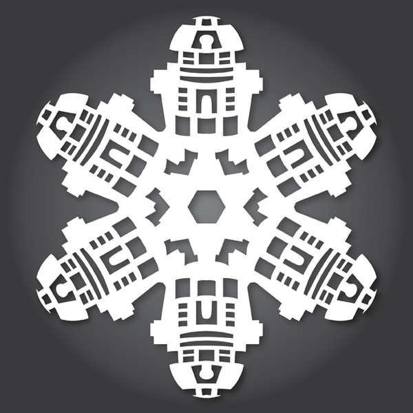 Star Wars snowflake