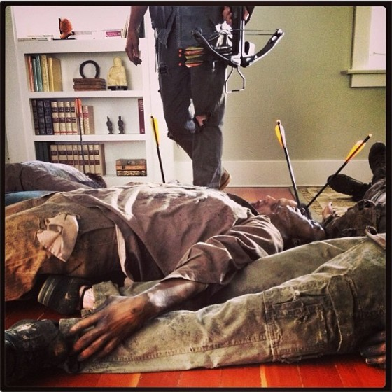 The Walking Dead Reedus instagram 2