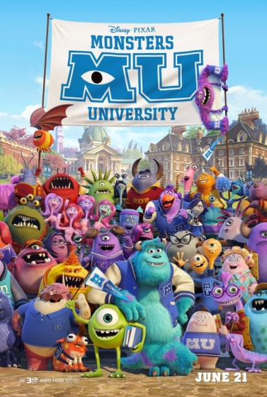 monsters university group poster