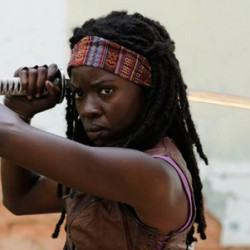 THE WALKING DEAD'S Michonne Is a Woman in War, Hell-Hath-No-Fury Sort of Chick