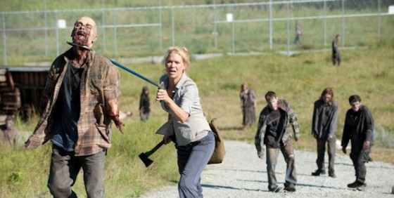 The Walking Dead 311 andrea walkers wide