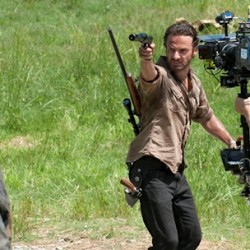 Feast Your Eyes on These Newly Released THE WALKING DEAD Season 3 Behind the Scenes Pictures