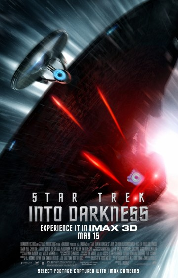 Star Trek ID theatrical enterprise chase poster