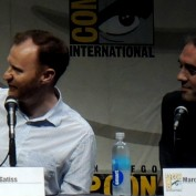 Doctor Who sdcc 2013 Gatiss Wilson